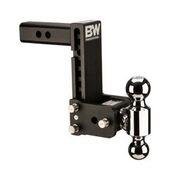 "B&W - B&W   Tow & Stow   Dual Ball  2"" Hitch   7"" Drop / 7.5"" Rise   Black  (TS10040B)"