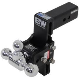 "B&W - B & W   Tow & Stow     2.5"" Hitch   Tri Ball      7"" Drop/ 7.5"" Rise    Black  (TS20049B)"