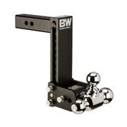 "B&W - B&W   Tow & Stow   Tri Ball   2"" Hitch  9"" Drop / 9.5"" Rise  Black   (TS10050B)"