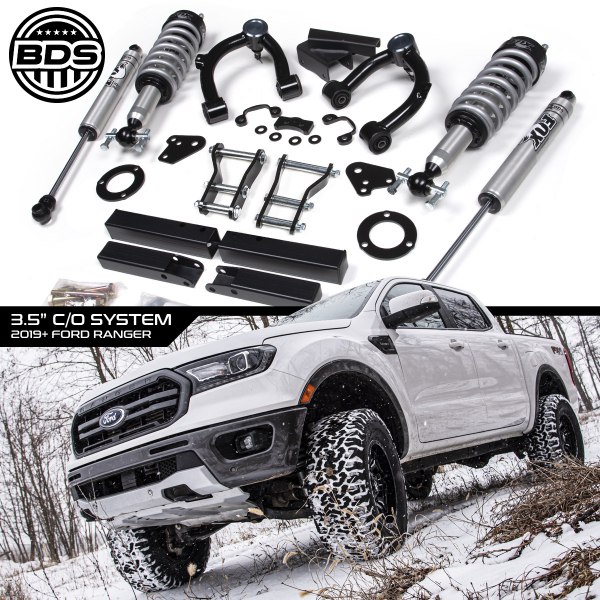 "BDS - BDS  3.5"" Coilover Lift Kit   2019+  Ranger  (1545FSL)"