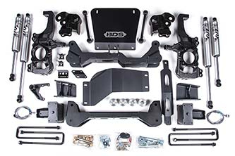 "BDS - BDS  5""  High Clearance Lift Kit w/FOX Shocks    2020+  Silverado/Sierra  HD  (766FS)"
