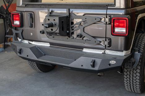 DV8 Offroad - DV8 - Tire Carrier  Bumper Mountedf   2018+ Wrangler JL   (TCJL-06)