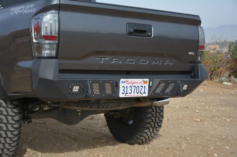 DV8 Offroad - DV8 -Rear  Bumper  Toyota Tacoma   2016-2018  (RBTT1-03)