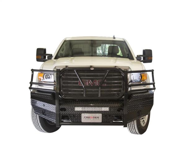 Frontier Truck Gear - Frontier Original Front Bumper  2007-2013 GMC 1500 (300-30-7008)