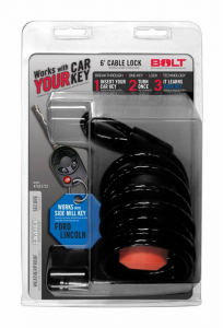 Misc. - Bolt Misc.Exterior - BOLT - BOLT   6'  Cable Lock Ford Side Cut   (7023722)