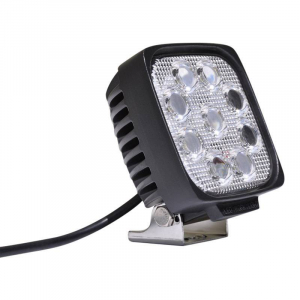 "Lighting - DV8 Lighting - DV8 Offroad - DV8 - 5""  LEDS  Square  Off road   Light   27W Spot   3W   Black   (S4.3E27W3W)"