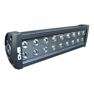 "Lighting - DV8 Lighting - DV8 Offroad - DV8 - 12""  LED  Light Bar    72W Flood/Spot 3W Black    (BR12E72W3W)"