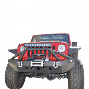 Front - DV8 Front Bumpers - DV8 Offroad - DV8 - Front Bumper   07-14 Wranglers (FBSHTB-06)