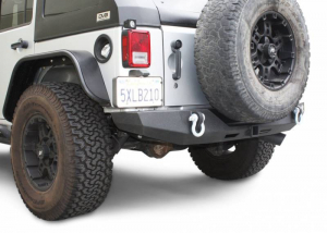 Jeep - DV8 Rear Jeep Bumpers - DV8 Offroad - DV8 - Rear Bumper  Full Length   07-18  Wrangler  JK   (RBSTTB-06)