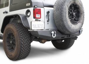Rear - DV8 Rear Bumpers - DV8 Offroad - DV8 - Rear Bumper  Full Length 2007-2018  Wrangler  JK   (RBSTTB-06)