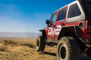 Jeep - DV8 Misc. Exterior - DV8 Offroad - DV8 - Flat Tube Fenders   (Front & Rear)   2007-2018  Wrangler  JK   (FENDB-02)