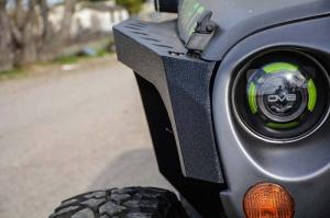 Jeep - DV8 Misc. Exterior - DV8 Offroad - DV8 - Armor Fenders   Front & Rear   2007-2018  Wrangler JK   (FENDB-01)