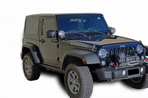 Jeep - DV8 Misc. Exterior - DV8 Offroad - DV8 - Hard Top   Square Back   (2 Piece) 2007-2018    Wrangler JK  2dr   (HT07SB22)