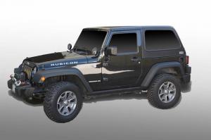 Jeep - DV8 Misc. Exterior - DV8 Offroad - DV8 - Hard Top   Fast Back   (2 Piece) 2007-2018   Wrangler  JK  2 Door  (HT07FB22)