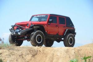 Jeep - DV8 Misc. Exterior - DV8 Offroad - DV8 - Hard Top   Fast Back   (2 Piece) 2007-2018   Wrangler  JK   4dr    (HT07FB42)