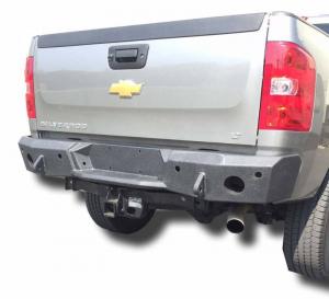 Rear - DV8 Rear Bumpers - DV8 Offroad - DV8 -Rear  Bumper  Chevrolet Silverado  2500 2011-2014   (RBCS2-01)