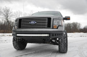 Front - DV8 Front Bumpers - DV8 Offroad - DV8 -Front  Bumper  Ford F-250 F-350   2005-2007   (FBFF2-01)