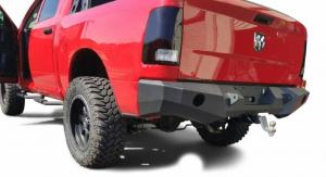 Rear - DV8 Rear Bumpers - DV8 Offroad - DV8 - Rear Bumper 2013-2018 Ram 1500   (RBDR1-01)