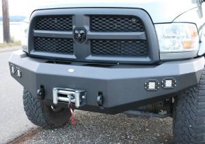 Front - DV8 Front Bumpers - DV8 Offroad - DV8 -Front  Bumper  Dodge Ram 2500/3500   2010-2014   (FBDR2-02)
