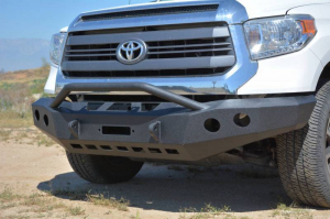 Front - DV8 Front Bumpers - DV8 Offroad - DV8 -Front  Bumper  Toyota Tundra  2014-2017   (FBTT2-01)