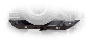 Rear - DV8 Rear Bumpers - DV8 Offroad - DV8 - Rear Bumper 18+ Wrangler JL (RBJL-01)