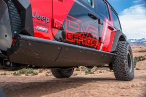 Jeep - DV8 Rails - DV8 Offroad - DV8 - Rock Sliders   2018+  Wrangler JL  (SRJL-01)