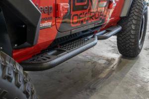 Other Steps - DV8 Rails - DV8 Offroad - DV8 - Rock Sliders   2018+   Wrangler  JL  (SRJL-02)