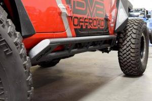 Other Steps - DV8 Rails - DV8 Offroad - DV8 - Rock Sliders    2018+   Wrangler  JL   (SRJL-03)