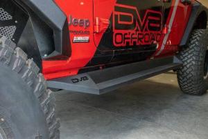 Jeep - DV8 Rails - DV8 Offroad - DV8 - Rock Sliders   2018+  Wrangler  JL   (SRJL-04)