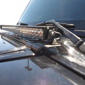 "Lighting - DV8 Lighting - DV8 Offroad - DV8 - 30"" Light Bar 140W Spot 5W CREE LEDSLIMBlack (BS30E150W5W)"
