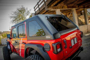 Jeep - DV8 Misc. Exterior - DV8 Offroad - DV8 - Fastback Hard Top    2018+  Wrangler JL   4 door    (HTJLFB-B)