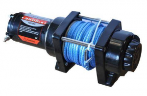 Misc. - DV8 Misc. Exterior - DV8 Offroad - DV8 - 3K  LB   Winch   w/Synthetic Rope  (WB30SC)