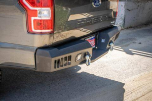 Rear - DV8 Rear Bumpers - DV8 Offroad - DV8 -Rear  Bumper  Ford F-150  2018 +   (RBFF1-02)