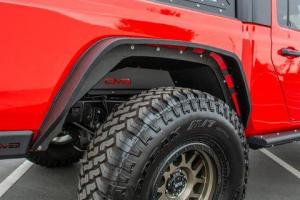 Jeep - DV8 Flares - DV8 Offroad - DV8   Rear Inner Fenders   2019+  Gladiator  (INFEND04RB)