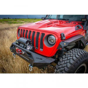 Jeep - DV8 Misc. Exterior - DV8 Offroad - DV8  Headlight Adapter w/ wiring (Allows JK Light to fit into JL)    Jeep JL  (BCABJL-01)