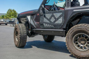 Jeep - DV8 Rails - DV8 Offroad - DV8  Boatside Rock Sliders  2Dr  Jeep JL  (SRJL-21)