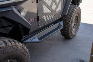 Jeep - DV8 Rails - DV8 Offroad - DV8  Boxed Slider/ Step  2Dr  Jeep JL  (SRJL-24)