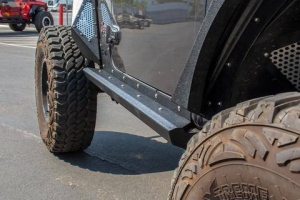 Jeep - DV8 Rails - DV8 Offroad - DV8  Body & Frame Mounted Sliders   Jeep JL  (SRJL-26)