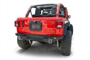 Jeep - DV8 Misc. Exterior - DV8 Offroad - DV8  Spare Tire Delete w/ Camera Mount  Jeep JL  (TSJL-02)