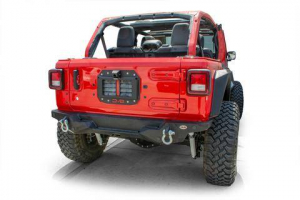Misc. - DV8 Misc. Exterior - DV8 Offroad - DV8  Spare Tire Delete w/ Camera Mount  Jeep JL  (TSJL-02)
