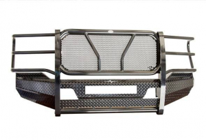 Frontier Front Bumpers - Frontier Original Front Bumper - Frontier Truck Gear - Frontier Original Front Bumper  '01-'02 Chevy 2500/3500 Light Bar (300-20-1006)