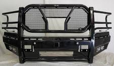 Frontier Front Bumpers - Frontier Pro Front Bumper - Frontier Truck Gear - Frontier Pro Front Bumper with Camera and Light Bar (130-41-9007)
