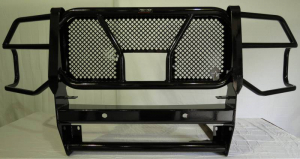 Grille Guards - Frontier Grille Guards - Frontier Truck Gear - Frontier Grille Guard   w/Camera cutout & SENSORS - 2020 Chevy 2500/3500  (200-22-0008)