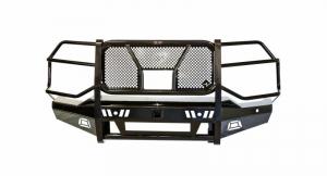 Frontier Truck Gear - Frontier  PRO Front Bumper  w/ Camera & Light Bar Cutout  2020+  Silverado HD  (130-22-0006)