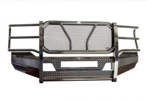 Frontier Truck Gear - FRONTIER  Original Front Bumper w/ Light Bar Option  & Camera Cutout  - 2020 Super Duty   (300-12-0008)