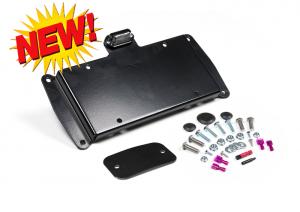 JKS - JKS License Plate Relocation Kit w/Light | Wrangler JK  (8210) - Image 1