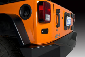 JKS - JKS License Plate Relocation Kit w/Light | Wrangler JK  (8210) - Image 3