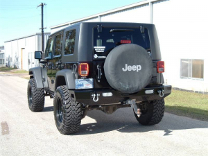 Ranch Hand Rear Bumpers - Ranch Hand Legend Rear Bumper - Ranch Hand - Ranch Hand Rear Bumper (BBJ071BLL)