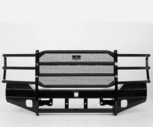 Ranch Hand Front Bumpers - Ranch Hand Sport/15K Winch Front Bumper - Ranch Hand - Ranch Hand Sport Front Bumper w/Winch Mount   (FBD065BLR)