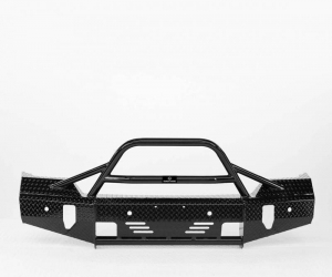 Ranch Hand Front Bumpers - RanchHand Summit Bullnose Front Bumper - Ranch Hand - Ranch Hand Summit BullNose Front Bumper   2015-2019 Sierra HD (BSG151BL1)